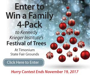 Festival of Trees Contest - Win a Family 4 Pack