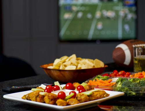 Host a sports viewing party to remember